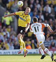 Photo: Jonathan Butler.<br /> Watford v Blackpool. Coca Cola Championship. 29/09/2007.<br /> Jay DeMerit of Watford.