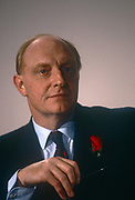 Leader of the Labour party, Neil Kinnock listens to speeches during a Labour Citizens Charter event in June 1991, in London, England. Neil Gordon Kinnock, Baron Kinnock PC b1942 is a British Labour Party politician. He served as a Member of Parliament from 1970 until 1995, first for Bedwellty and then for Islwyn. He was the Leader of the Labour Party and Leader of the Opposition from 1983 until 1992, making him the longest-serving Leader of the Opposition in British political history.