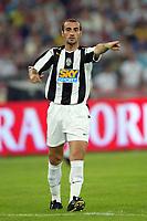 Bari 3/8/2004 Trofeo Birra Moretti - Juventus Inter Palermo. <br /> <br /> Paolo Montero Juventus <br /> <br /> Risultati / results (gare da 45 min. each game 45 min.) <br /> <br /> Juventus - Inter 1-0 Palermo - Inter 2-1 Juventus b. Palermo dopo/after shoot out <br /> <br /> Photo Andrea Staccioli