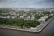 Aerial photography of Charleston, South Carolina on July 27, 2013. (Photos by Stacy L. Pearsall)