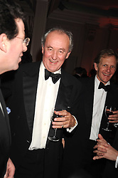 The DUKE OF ROXBURGHE at the annual Cartier Racing Awards held at the Grosvenor House Hotel, Park Lane, London on 17th November 2008.