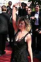 Director Valérie Bruni Tedeschi at the 'Un Chateau En Italie' film gala screening at the Cannes Film Festival Monday 20th May 2013