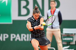 May 29, 2019 - Paris, France - Paris, France 29th May. Sara Sorribes Tormo (ESP) in action against Sloane Stephens (USA) during the French Open Tennis at Stade Roland-Garros, Paris on Wednesday 29th May 2019. (Credit: Jon Bromley | MI News) (Credit Image: © Mi News/NurPhoto via ZUMA Press)
