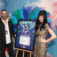 """Katy Perry Live Nation """"Water Rats to O2 Arena"""" Award"""