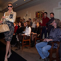 Salon fashion show of Pastell Studio presenting the Navona Collection by Rozsa Megla at Restaurant Apetitto in Budapest, Hungary on March 11, 2008. ATTILA VOLGYI