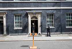 June 4, 2017 - London, London, United Kingdom - Image ©Licensed to i-Images Picture Agency. 04/06/2017. London, United Kingdom. .Prime Minister, Theresa May, makes a statement at 10 Downing street following the terrorist attack at London Bridge .Picture by Mark Thomas / i-Images (Credit Image: © Mark Thomas/i-Images via ZUMA Press)