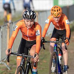 04-11-2018: Wielrennen: EK veldrijden: Rosmalen <br />Yara Kasteleijn