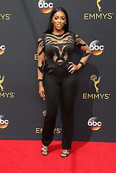 Porsha Williams  bei der Verleihung der 68. Primetime Emmy Awards in Los Angeles / 180916<br /> <br /> *** 68th Primetime Emmy Awards in Los Angeles, California on September 18th, 2016***
