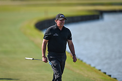 March 21, 2018 - Austin, TX, U.S. - AUSTIN, TX - MARCH 21: Phil Mickelson walks up the fairway during the First Round of the WGC-Dell Technologies Match Play on March 21, 2018 at Austin Country Club in Austin, TX. (Photo by Daniel Dunn/Icon Sportswire) (Credit Image: © Daniel Dunn/Icon SMI via ZUMA Press)