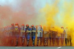 Tropa de choque da Polícia Militar em ação.<br /> <br /> FOTO: Jefferson Bernardes/Preview.com