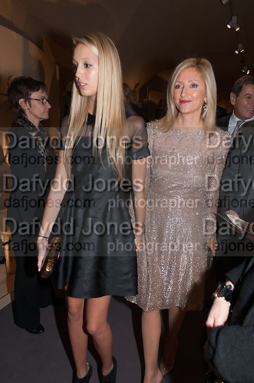 PRINCESS MARIE OLYMPIA OF GREECE; PRINCESS MARIA CHANTAL OF GREECE; , Valentino: Master of Couture - private view. Somerset House, London. 28 November 2012