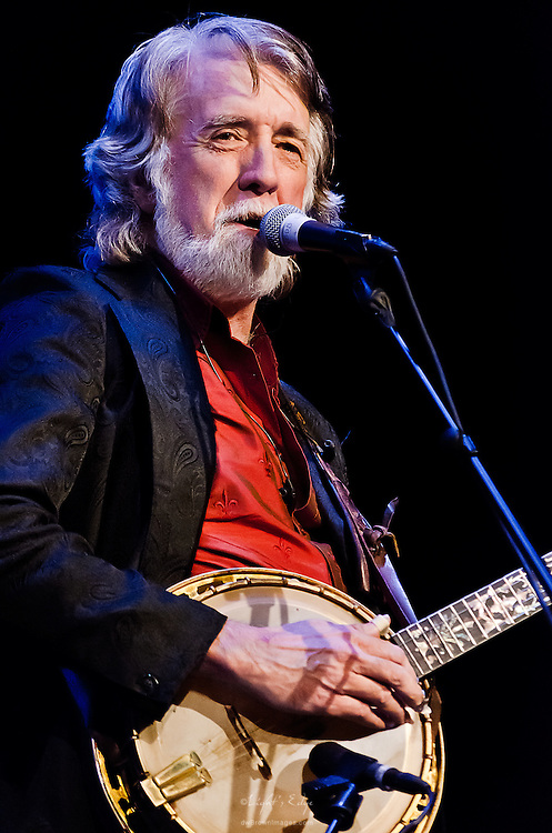 John McEuen on banjo during the Nitty Gritty Dirt Band performance at the Landis Theater in Vineland, NJ.
