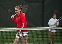 St Paul's School girls varsity tennis.  ©2019 Karen Bobotas Photographer