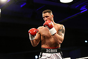 Boxen: x-mas Boxing, Hamburg, 22.12.2017<br /> Schwergewicht: Agron Smakici (GER)<br /> © Torsten Helmke