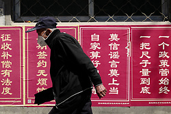 May 24, 2017 - Beijing, Beijing, China - Beijing,CHINA-May 24 2017: (EDITORIAL USE ONLY. CHINA OUT) ..The shanty town, as complicated as labyrinth, will be removed in Beijing. (Credit Image: © SIPA Asia via ZUMA Wire)