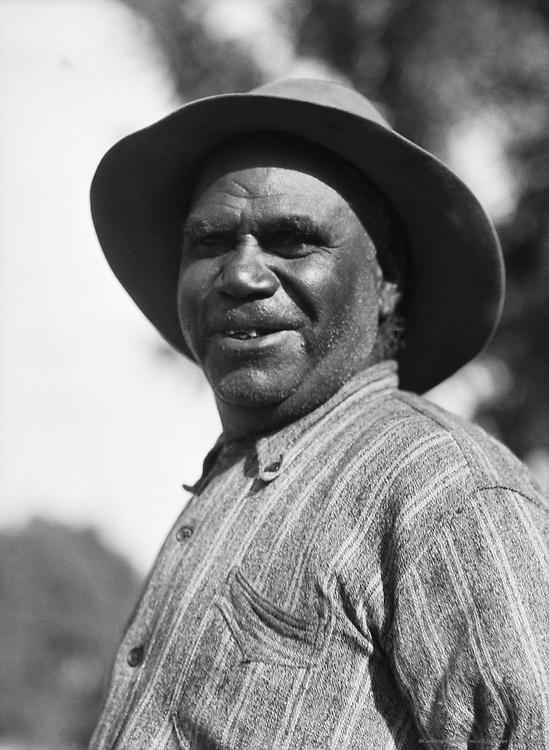 Australian Aboriginal, Moree, New South Wales, Australia, 1930