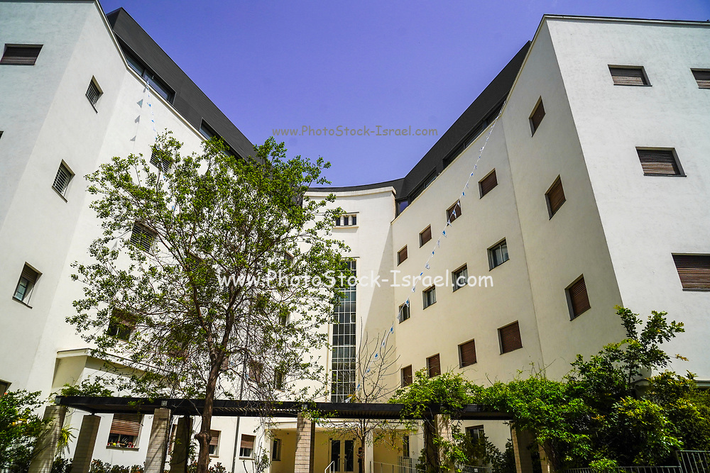 The Zamenhof Clinic, was designed in 1934 by architect Yohanan Ratner and was one of the largest and most important clinics of the Clalit Health Fund. At 34 Zamenhof Street on the corner of 1 Ha-Shoftim, Tel Aviv White City. The White City refers to a collection of over 4,000 buildings built in the Bauhaus or International Style in Tel Aviv from the 1930s by German Jewish architects who emigrated to the British Mandate of Palestine after the rise of the Nazis. Tel Aviv has the largest number of buildings in the Bauhaus/International Style of any city in the world. Preservation, documentation, and exhibitions have brought attention to Tel Aviv's collection of 1930s architecture.