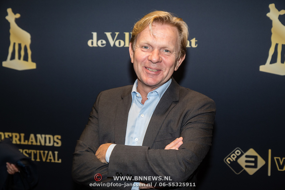 NLD/Utrecht/20160922 - inloop NFF 2016 - première Riphagen, Michiel van Erp