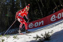 Ole Einar Bjoerndalen (NOR) competes during Men 12,5 km Pursuit at day 3 of IBU Biathlon World Cup 2015/16 Pokljuka, on December 19, 2015 in Rudno polje, Pokljuka, Slovenia. Photo by Urban Urbanc / Sportida