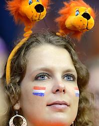 12-09-2014 NED: Davis Cup Nederland - Kroatie, Amsterdam<br /> Oranje support publiek