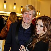 NLD/Den Bosch/20120214 - Valentijnslunch 2012 Addy van den Krommenacker, Addy en Tatjana Simic