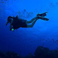 Scuba diver, Grand Cayman