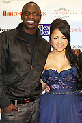 """l to r: Akon and Kat De Luna  at """" The Ultimate Prom"""" presented by Universal Motown and Mypromstyle.com held at Pier 60 at Chelsea Piers in New York City."""
