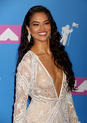 August 20, 2018 - New York City, New York, U.S. - Model SHANINA SHAIK attends the arrivals for the 2018 MTV 'VMAS' held at Radio City Music Hall. (Credit Image: © Nancy Kaszerman via ZUMA Wire)