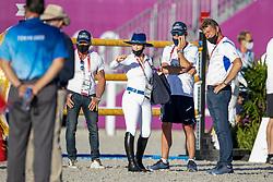 Bond Ashlee ISR, Dubbeldam Jeroen, NED<br /> Olympic Games Tokyo 2021<br /> © Hippo Foto - Dirk Caremans<br /> 03/08/2021