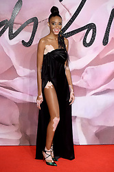 Winnie Harlow attending The Fashion Awards 2016 at The Royal Albert Hall in London. <br /> <br /> Picture Credit Should Read: Doug Peters/ EMPICS Entertainment