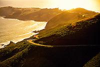 The Marin Headlands, Marin County (near San Francisco), California USA