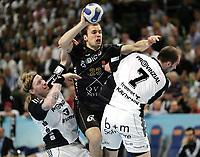 Håndball , 11 . mai 2008 v.l. Boerge Lund, Uros Zorman, Vid Kavticnik Kiel<br /> Handball Champions League 2. Finale THW Kiel - Ciudad Real<br /> Norway only<br /> Børge Lund