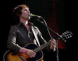 James Blunt <br /> performing live at the Wireless Festival, Hyde Park, London, 29th June 2005.<br /> <br /> James Blunt <br /> <br /> Photograph by Elliott Franks