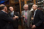 WILLIAM SIEGHART; IAIN DUNCAN SMITH,; DANIEL JOHNSON; LUKE JOHNSON,  The Brown's Hotel Summer Party hosted by Sir Rocco Forte and Olga Polizzi, Brown's Hotel. Albermarle St. London. 14 May 2015