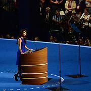 Actress Eva Longoria speaks at the 2012 Democratic National Convention