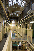 Collingwood wing, the induction unit inside HMP/YOI Portland, a resettlement prison with a capacity for 530 prisoners.