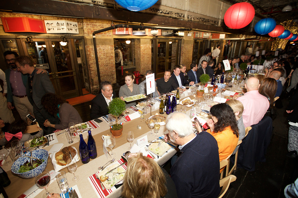 NEW YORK, NY - March 26, 2017: The James Beard Foundation and Jamestown present the 9th Annual Sunday Supper event at Chelsea Market.<br /> <br /> Credit: Clay Williams for the James Beard Foundation.<br /> <br /> © Clay Williams / http://claywilliamsphoto.com