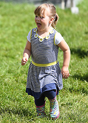 Members of the Royal Family attend the Festival of British Eventing at Gatcombe Park, Minchinhampton, Gloucestershire, UK, on the 5th August 2017. 05 Aug 2017 Pictured: Mia Tindall. Photo credit: James Whatling / MEGA TheMegaAgency.com +1 888 505 6342