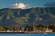 Haleiwa Beach Park, Waialua Bay, North Shore, Oahu, Hawaii