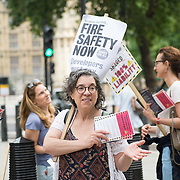 Rent council is a wiser choice dont buy Shared Ownership or Leaseholder is a hung, you become a slave to your property you dont owns demonstration at Queen Elizabeth II Conference Centre on  2021-09-18, London, UK.