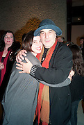 KATE BUSH; RON ARAD, Ron Arad; Restless. Cocktail reception hosted by Kate Bush of the Barbican and Tony Chambers of Wallpaper magazine. Barbican art Gallery. London. 17 September 2010