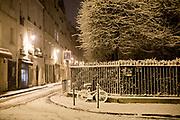 Paris, France. 7 Février 2018 - AM<br /> Beaucoup de neige à Paris dans la nuit du 6 au 7 Février à Paris