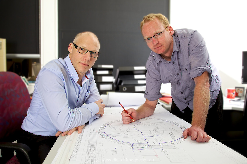 Brad Mountford, Group Leader - Controls Engineering and Mick Kusel, Principal Mechanical Engineer, Support Services, Australian Synchrotron, Engineering Deptartment.