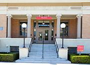 Anaheim Public Library Front Entrance