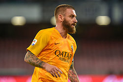 October 28, 2018 - Naples, Naples, Italy - Daniele De Rossi of AS Roma during the Serie A TIM match between SSC Napoli and AS Roma at Stadio San Paolo Naples Italy on 28 October 2018. (Credit Image: © Franco Romano/NurPhoto via ZUMA Press)