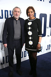 NEW YORK, NY - DECEMBER 13:  Robert De Niro, Grace Hightower, James Packer attends the premiere of 'Joy' at the Ziegfeld Theater on December 13, 2015 in New York City...People:  Robert De Niro, Grace Hightower. (Credit Image: © SMG via ZUMA Wire)