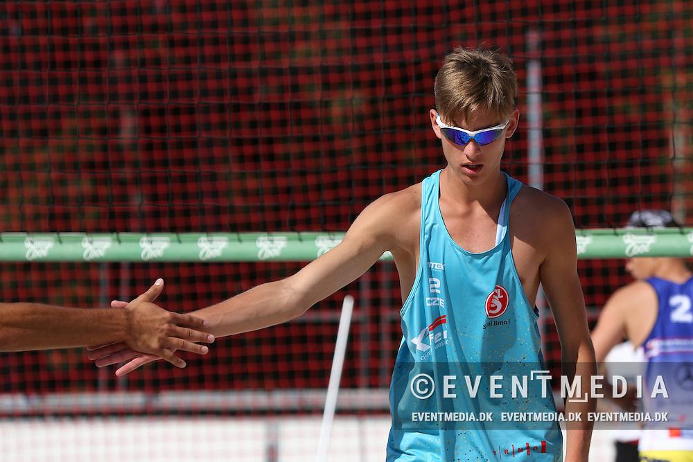 MEVZA Prague 2016 for U18 and U20 at Beachclub Strahov and Prague Beach Team in Prague, Czech Republic, 1.7-2.7.2016. (Allan Jensen/EVENTMEDIA)