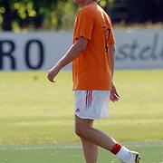 NLD/Amsterdam/20060623 - Robbie Williams voetballend bij de Arena Amsterdam, Richard Witschge