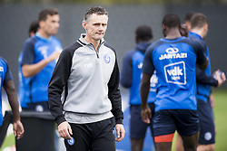 October 11, 2017 - Gent, BELGIUM - Gent's keeper coach Francky Vandendriessche pictured during a training session of Belgian first division soccer team KAA Gent, Wednesday 11 October 2017 in Gent. It's their first session with new head coach Vanderhaeghe. BELGA PHOTO JASPER JACOBS (Credit Image: © Jasper Jacobs/Belga via ZUMA Press)