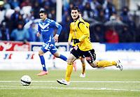 Fotball ,9. april 2012 , Adeccoligaen , 1. divisjon , Sarpsborg - Start 4-4<br /> Espen Søgård , Start